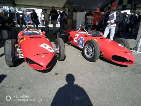 2 Legendary Ferrari F1 Sharknose Both Were Rebuilt With All Ferrari Parts In 1961 9gag