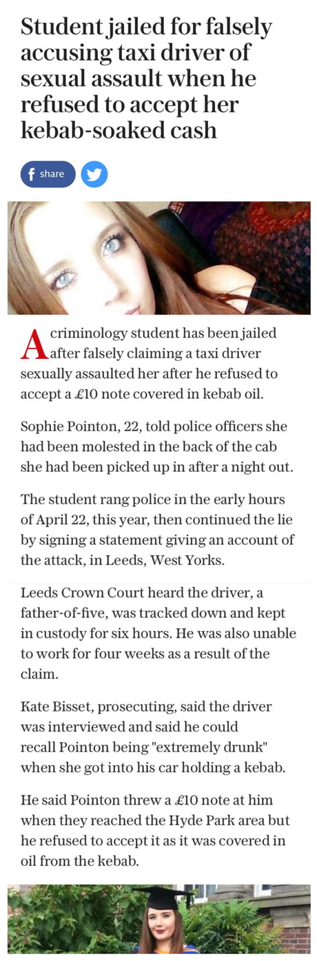 Girl gets only 16months for false rape claim