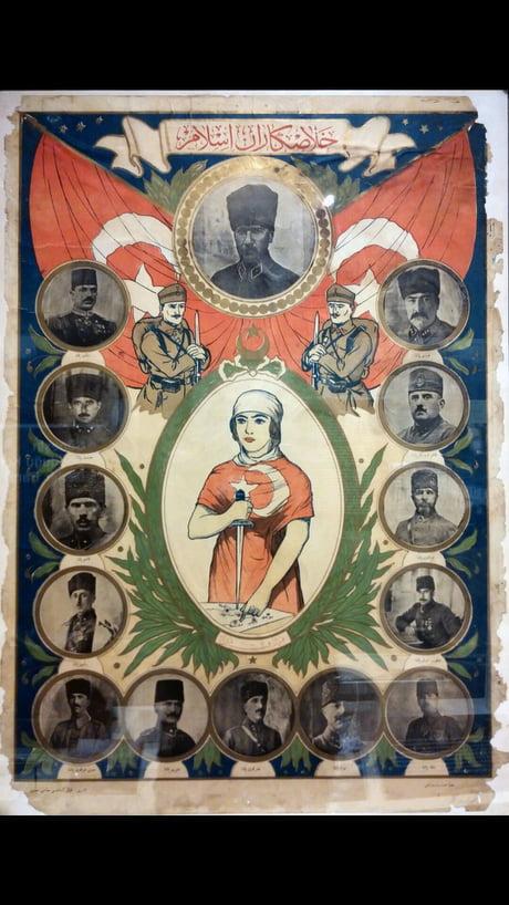 Turkish War of Independence propaganda 1919 - 9GAG