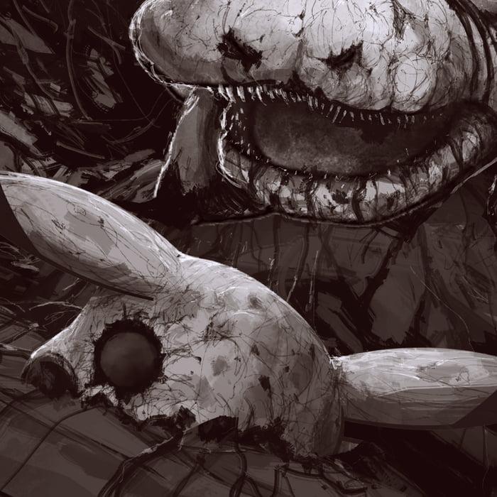 Don't You Wanna Catch These Silent Hill-ish Pokemon arts  Pokemon Anime