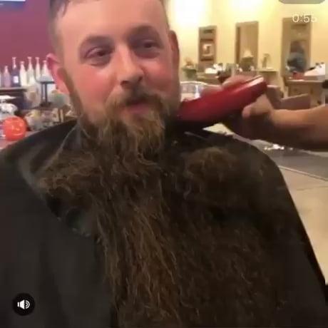 Beard On To Beard Off - Video | Gif-Vif