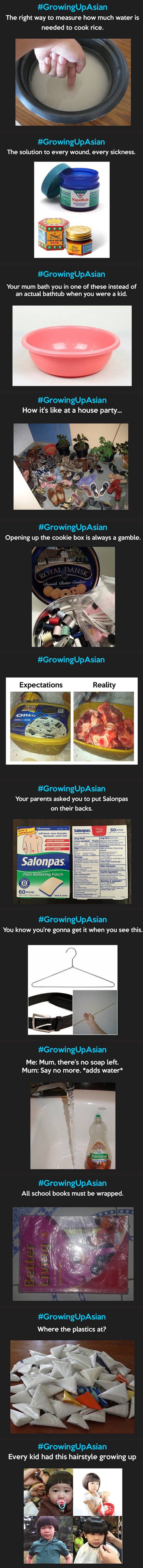 If you can relate to any of these, congrats you're asian!