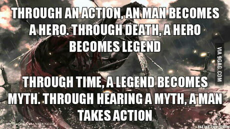 And That Is The Cycle Of All Heroes 9gag