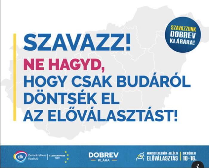 Dobrev már a budaiak ellenében kampányol
