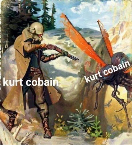 Another Kurt Cobain Meme 9gag