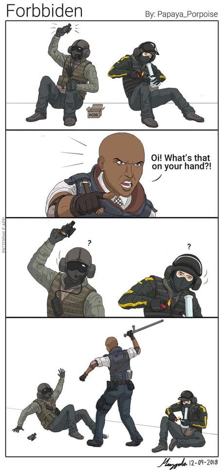 Y All Got Any Of Them Rainbow Six Siege Memes 9gag