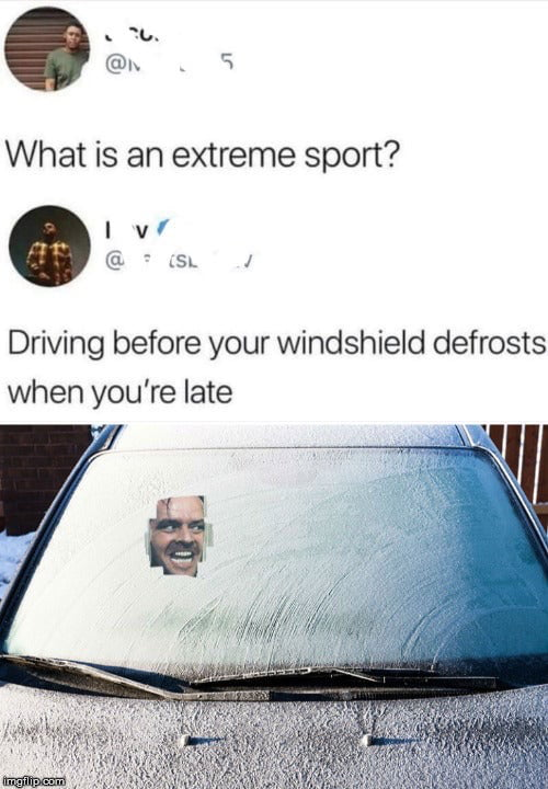 I can't be late again or I'll get wrote up