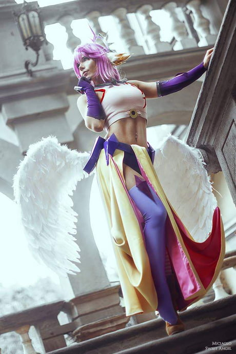 Jibril Cosplay From No Game No Life By Miciaglo Sweet Angel Cosplay 9gag