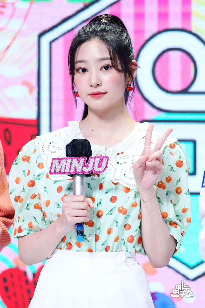 Photo : 210604 MBC Entertain Twitter Update With MC Angel Kim Minju