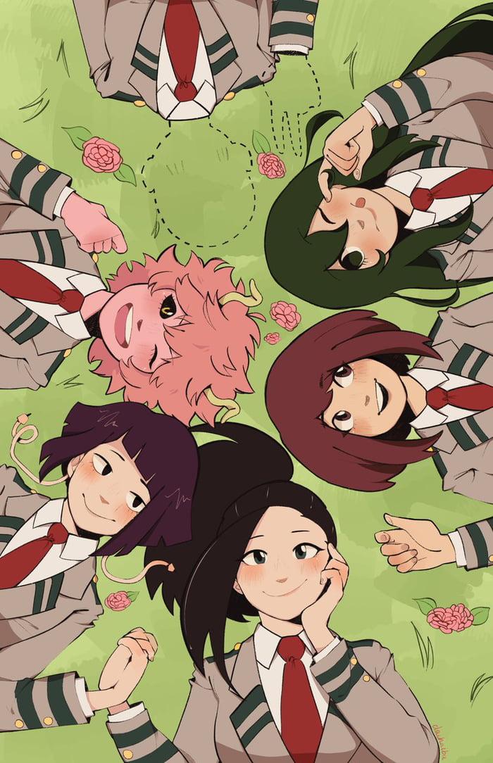 Class 1-A Girls