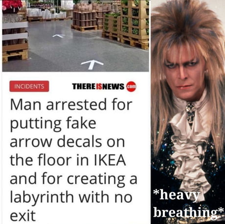 Jareth The Goblin King Wow Look At That