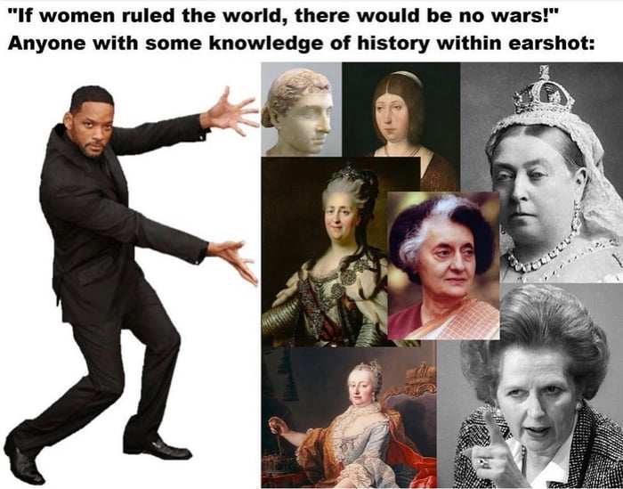 And this isn't even going into Eastern women rulers
