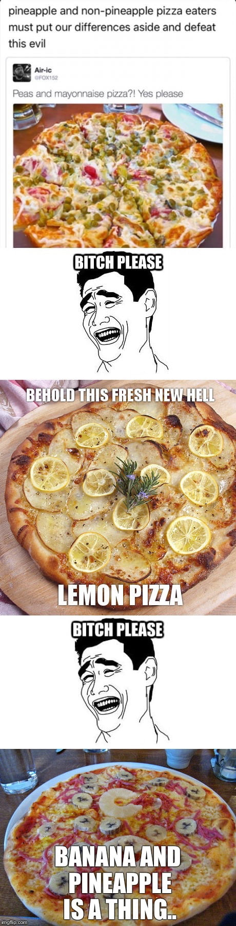 WE MUST UNITE AGAINST THESE EVIL PIZZAS