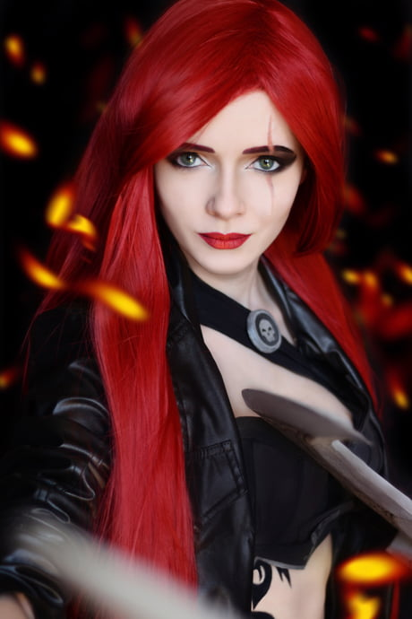 Katarina - League of Legends - by Irina Sabetskaya