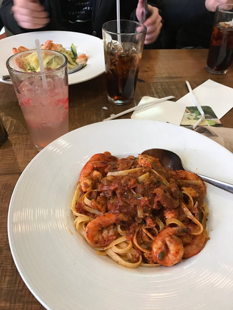 Jambalaya Pasta From California Pizza Kitchen So Good 9gag
