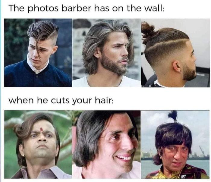 Good haircut lasts only a week, so does a bad hair cut
