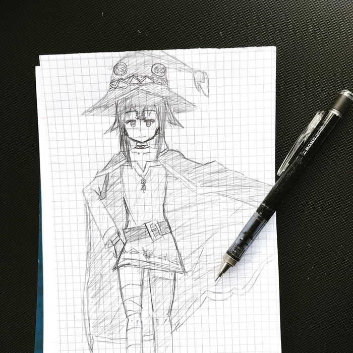 How do you like my 15 minutes challenge.  Featuring Megumin!
