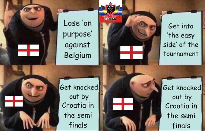 It's not coming home!
