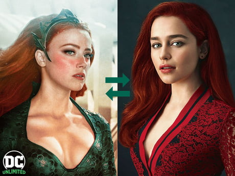 Fans Startet Petition For Emilia Clarke To Replace Amber Abuser Heard In Aquaman 2 9gag