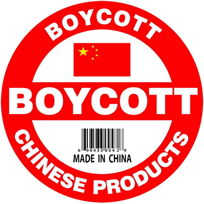 So anyone else here who's trying to use as little Chinese products as they can