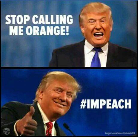 I am not an orange. (I'mpeach)