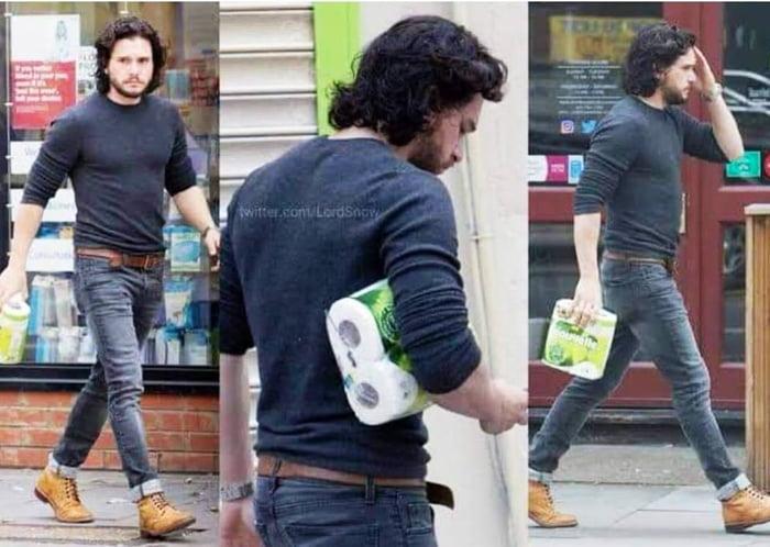 Jon snow on his way to the throne!!