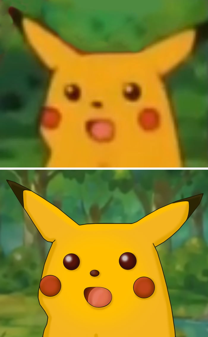 Now this is a high quality meme * Pikachu Shocked *