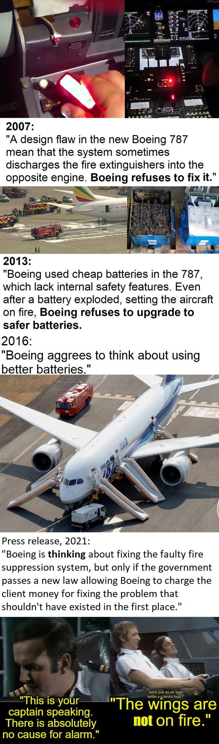 """Boeing is a """"trustworthy"""" brand."""