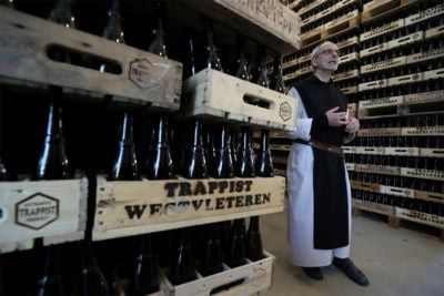 Belgian monks deliver beer at home: faith in humanity restored.