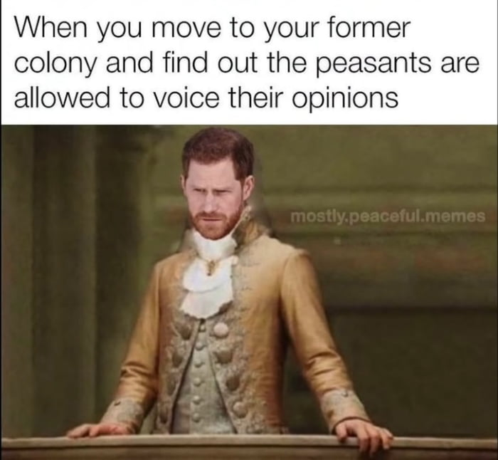 Yeah Harry, we quite frankly don't give a shit about your opinion. We had our Brexit back in 1776!!!