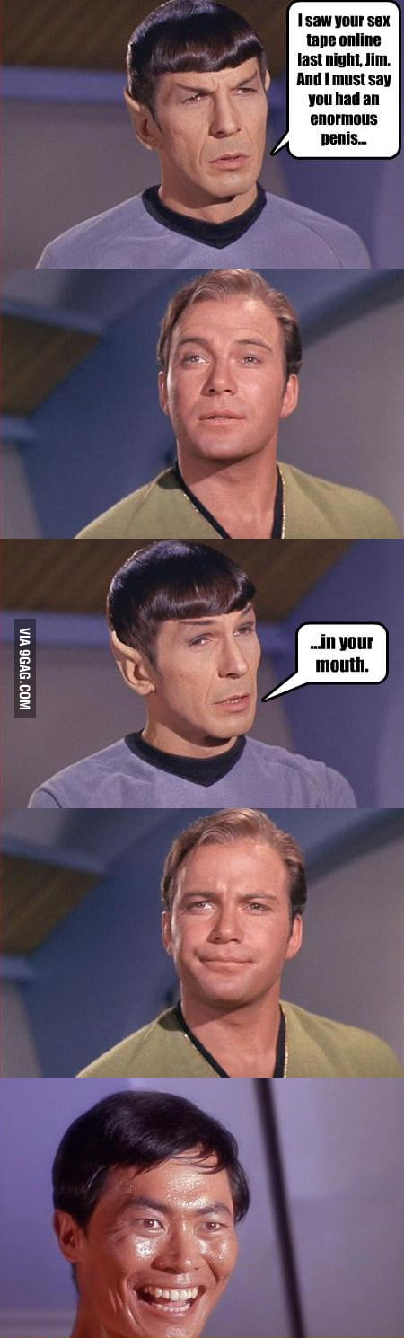 The explorations of Captain James T. Kirk.