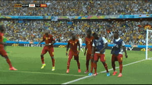 That Ghana Goal Celebration Dance