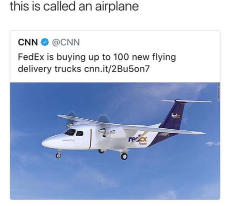 Flying delivery trucks